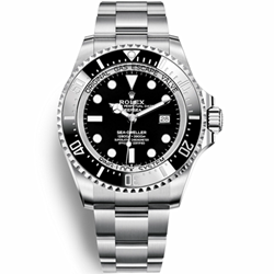 Rolex 劳力士 海使型系列 116660-98210 黑盘(水鬼王