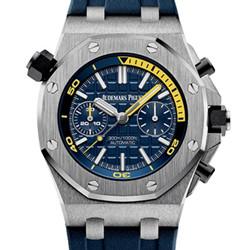 JF厂出品 爱彼 皇家橡树离岸型系列 26703 蓝色 一比一复刻手表图片价格/最高版本