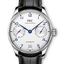 ZF厂 V5版 万国 葡萄牙7日链 IW500107  一比一复刻手表价格/图片 最高版本