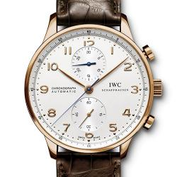 N厂手表 IWC 万国 Portugieser Chronograph 葡萄牙计时腕表(葡计) IW371480 玫瑰金 - 最高品质版本