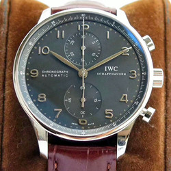 NOOB手表 IWC 万国 Portugieser Chronograph 葡萄牙计时腕表(葡计) IW371447 - 最高品质版本