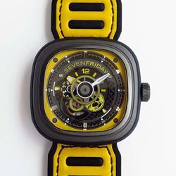 N厂 SV七个星期五 sevenfriday P3B/03 黄色 P3B-03 RACING TEAM YELLOW 原装机芯 最高品质版本