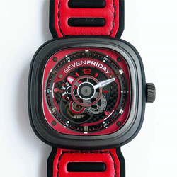 N厂 SV七个星期五 sevenfriday P3B/03 红色 P3B-03 RACING TEAM YELLOW 原装机芯价格 最高品质版本