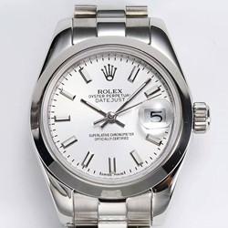 NOOB厂 定制版 劳力士 179160 女装日志型系列复刻价格 白盘腕表 最高复刻版本