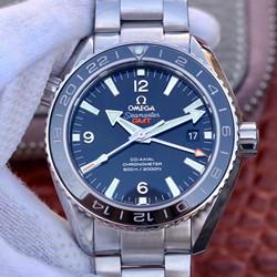 N厂 欧米茄 OMEGA  海马系列海洋宇宙600米复刻表价格 232.30.44.22.01.002 黑面 双时区 GMT 最高品质版本