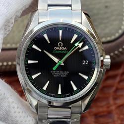 NOOB手表 欧米茄 海马复刻手表价格 AQUA150米系列 231.10.42.21.01.004 最高品质版本