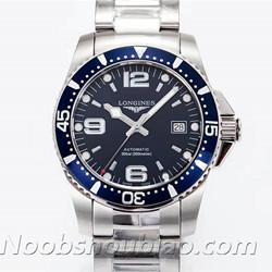 N厂手表 浪琴手表 运动系列 HYDROCONQUEST 康卡斯潜水系列 L3.742.4.96.6 蓝盘 - 最高品质版本