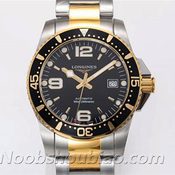 N厂手表 浪琴手表 运动系列 HYDROCONQUEST 康卡斯潜水系列 L3.742.3.56.7 间金 - 最高品质版本