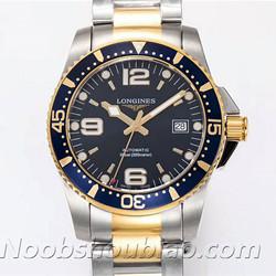 N厂手表 浪琴手表 运动系列 HYDROCONQUEST 康卡斯潜水系列 L3.642.3.96.7 间金 - 最高品质版本