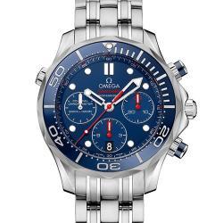 "N厂 欧米茄 海马""新西兰酋长""300米 潜水表系列 212.30.42.50.01.001 蓝盘 - 最高品质版本"