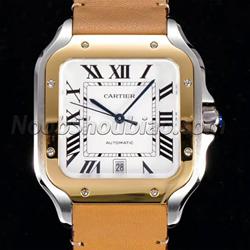 N厂手表 卡地亚 山度士系列 WSSA0009 皮带款 - 最高品质版本