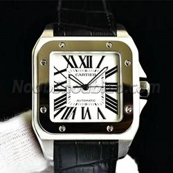 N厂手表 卡地亚 山度士 Cartier-SANTOS系列 W20073X8 男士(大号)- 最高品质版本