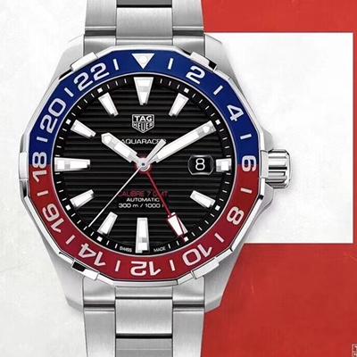 【原厂配件组装】泰格豪雅手表 竞潜系列 CALIBRE 7两地时间系列 WAY201F.BA0927 价格