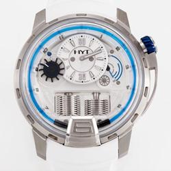 N厂手表 HYT 液压机械全自动手表白盘 复刻表价格 最高版本