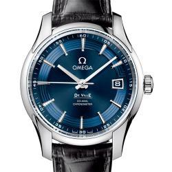 N厂手表 欧米茄手表 碟飞系列 HOUR VISION 431.33.41.21.03.001(明亮之蓝) 复刻手表价格 最高版本
