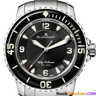 N厂 宝珀 五十噚系列 5015-1130-71 钢带版 复刻手表价格 最高版本