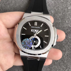 KM厂 百达翡丽 运动系列 胶带 5726/1A-001 鹦鹉螺 一比一复刻手表表价格/图片 最高版本
