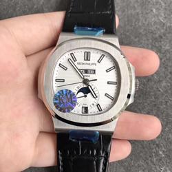 KM厂 百达翡丽 运动系列 皮带 5726/1A-010 鹦鹉螺 一比一复刻手表价格/图片 最高版本