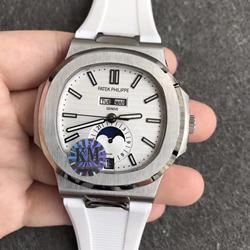 KM厂 百达翡丽 运动系列 胶带 5726/1A-010 鹦鹉螺 一比一复刻手表价格/图片 最高版本