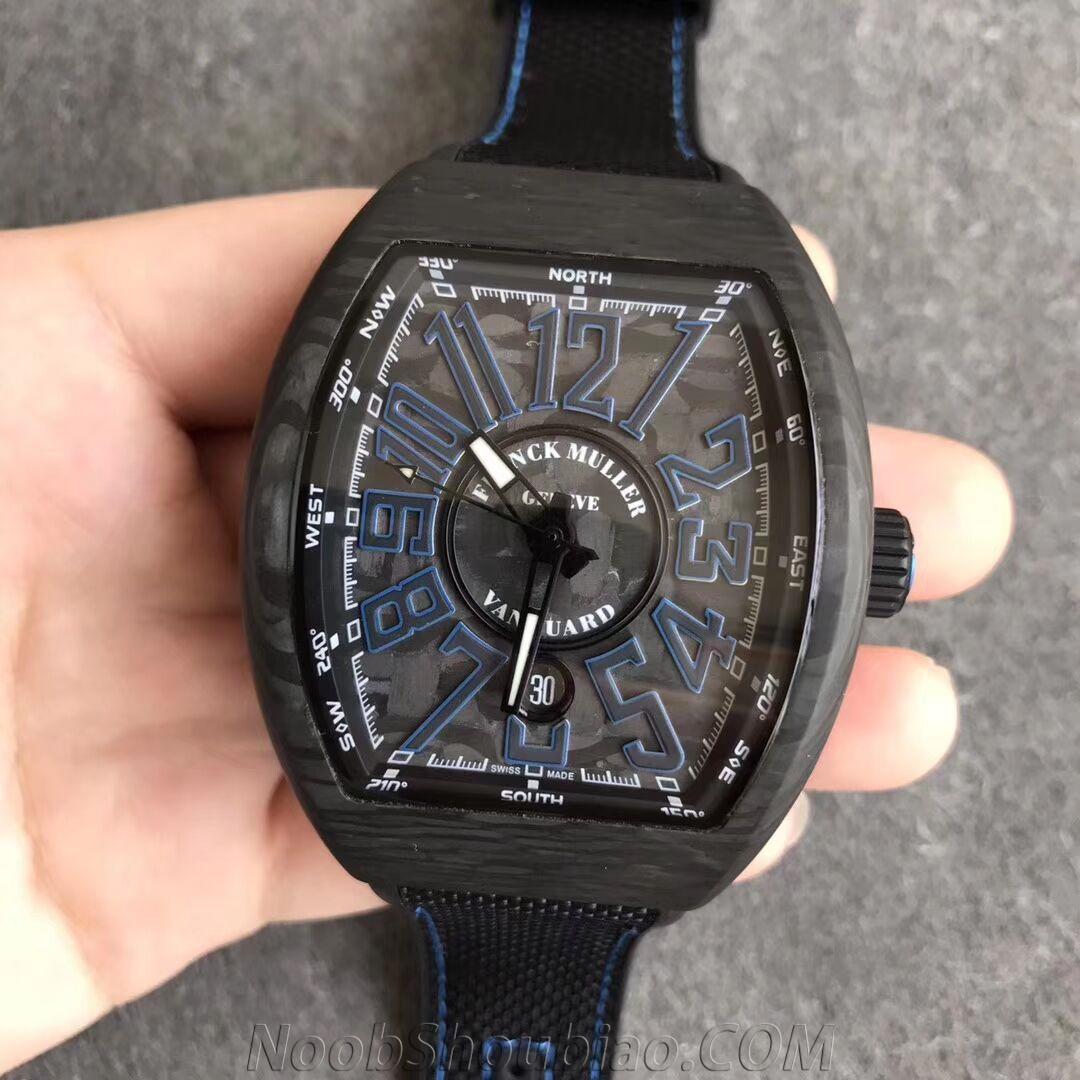 ABF 法穆兰 FM Vanguard V45 先锋系列 碳纤维 一比一复刻手表价格/图片 最高版本