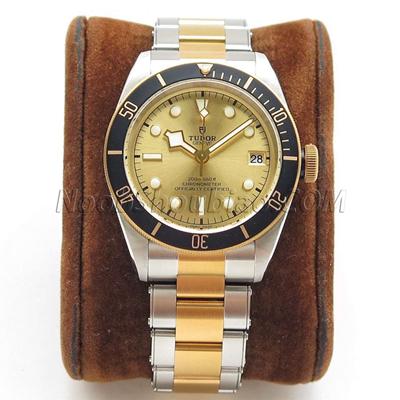 ZF厂 帝舵 碧湾 黄金钢型系列 M79733N-0004 一比一复刻手表价格/图片 最高版本