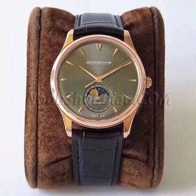 ZF厂出品 积家 超薄月相大师系列 136255J 玫瑰金 一比一复刻手表价格/图片 最高版本