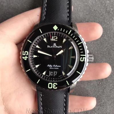 HG厂 宝珀 五十噚系列 5050-12B30-B52A 一比一复刻手表价格/图片 最高版本
