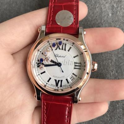 萧邦 HAPPY DIAMONDS 快乐钻 系列 278559-3001 最高版本 一比一复刻手表价格/图片