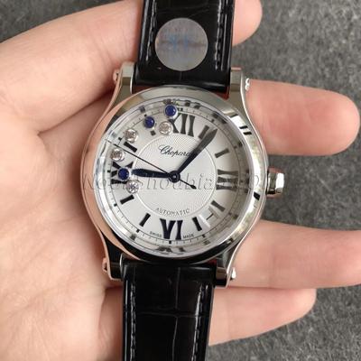 萧邦 HAPPY DIAMONDS 快乐钻 系列 278559-6008 最高版本 一比一复刻手表价格/图片