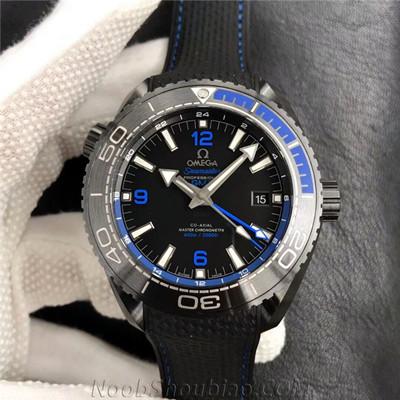 "VS厂 欧米茄 海马系列 海洋宇宙600米 GMT ""深海之黑"" 最高版本 一比一复刻表价格/图片"