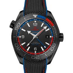 "VS厂 欧米茄 海马系列 海洋宇宙600米 GMT ""深海之黑""新西兰酋队长 215.92.46.22.01.004 一比一复刻手表价格/图片"