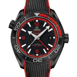 "VS厂 欧米茄 海马系列 海洋宇宙600米 GMT ""深海之黑"" 215.92.46.22.01.003 最高版本 一比一复刻表价格/图片"