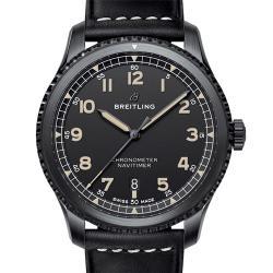 Breitling 百年灵 NAVITIMER 8 AUTOMATIC 41 航空计时8自动机械腕表41 黑钢 M17314101B1X1