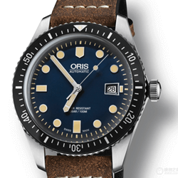 Oris 豪利时 Oris Divers Sixty-Five 潜水系列 01 733 7720 4055-07 5 21 02
