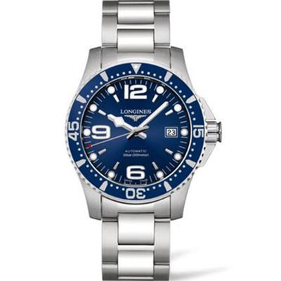 Longines 浪琴 HydroConquest 康卡斯潜水系列 L3.742.4.96.6