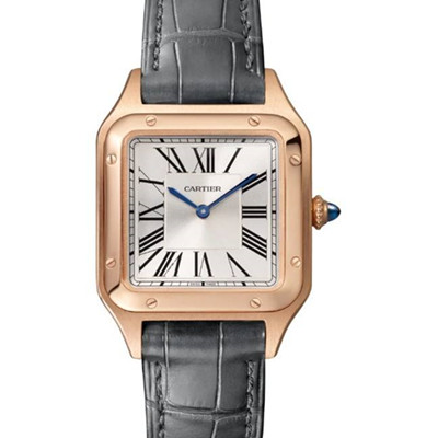 卡地亚 Cartier 山度士 SANTOS-DUMONT 桑托斯 WGSA0022 (小号) - NOOB手表