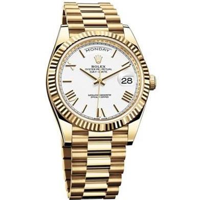 Rolex 劳力士 星期日历型40系列 m228238-0042 18K黄金 NOOB手表