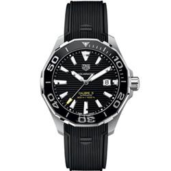 泰格豪雅手表 竞潜系列 300米 CALIBRE 5 自动腕表 43毫米系列 WAY201A.FT6069