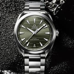 欧米茄 海马系列 AQUA TERRA 150米腕表系列 220.10.41.21.10.00