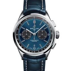 百年灵 璞雅系列 B01计时腕表系列 AB0118A61C1P1(折叠扣)