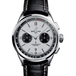 百年灵 璞雅系列 B01计时腕表系列 AB0118221G1P1(折叠扣)