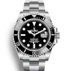 【2020新款】劳力士 Rolex 潜航者 Submariner 41MM黑水鬼 M126610LN-0001